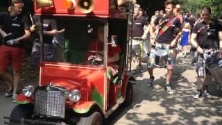 Parade met Shuffle Percussion @CP de Eemhof