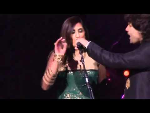 Shafqat Amanat Ali & Anisha Bakshi - Aankhon Ke Saagar - Live...
