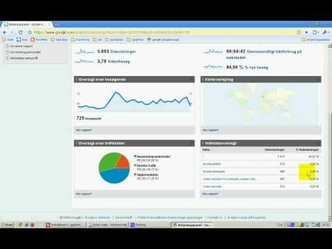 JOOMLATUTORIALS.DK: google analytics introduktion