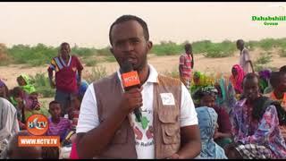 Hay'adda African Relief Oo Deeq Gaadhsiisay Deeganka Cabdi Geedi