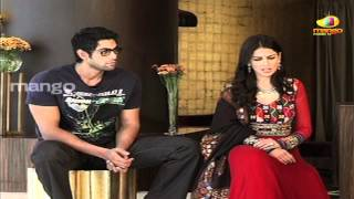 Naa Ishtam - genelia jokeing on rana dance - naa ishtam interview part 2