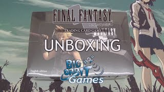 Final Fantasy TCG: Opus IV (4) Booster Unboxing