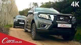 New Nissan Navara vs Ford Ranger Fx4 - Head-to-head Part 1