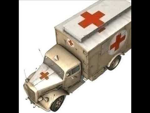 3D Model Opel Blitz Ambulance