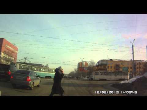 Сбил пешехода. Челябинск