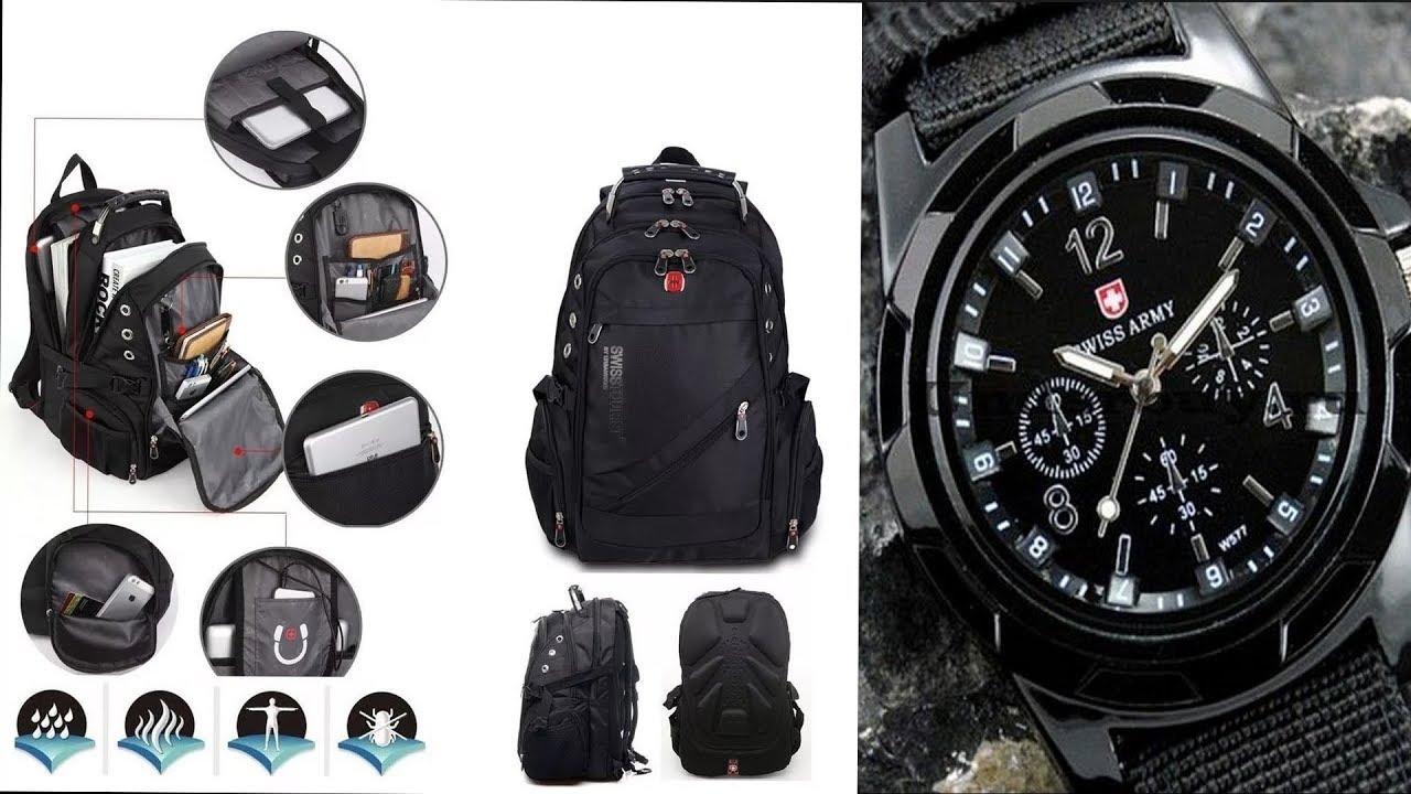 Часы в подарок к рюкзаку swissgear 8810 114