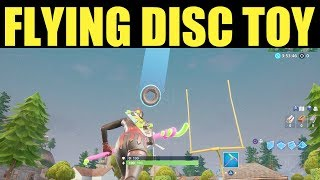 Throw the flying disc toy & catch it before it lands  - Challenge Guide Week 3 Season 9 Fortnite