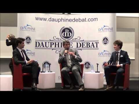 Arnaud Montebourg à Dauphine ( Dauphine Discussion Débat)