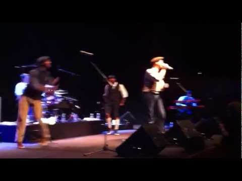 "Ben L'Oncle Soul – ""What'd I say"" @Auditorium Parco della Musica, Rome (24/03/2012)"