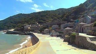 馬祖北竿離開遊客中心往芹壁村 To Qinbi village, Beigan Matsu (Taiwan)
