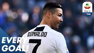 Ronaldo Double, Giaccherini Free-Kick, and EIGHT Goals in a Game!   EVERY Goal R19   Serie A