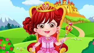 Baby Hazel Royal Princess Dressup - Baby Hazel Game Movie - Dora the Explorer