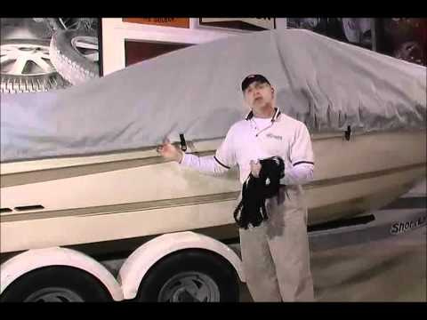 0 Boat Cover Installation   Taylor Made Semi Custom Boat Covers Part 4   Tie Down Straps