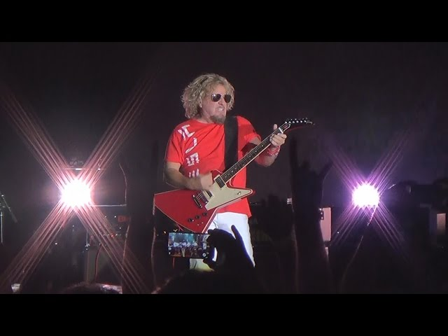 Sammy Hagar - There's Only One Way to Rock - Las Vegas 10-18-14