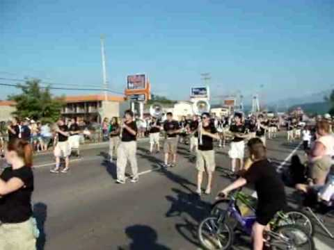 Pigeon Forge High School Band.flv