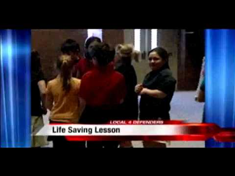 TAPP Michigan provides self-defense training for Living Word Lutheran School