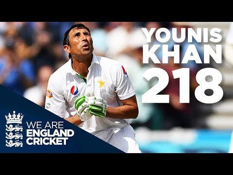 Younis Khan's Glorious 218 at The Oval: England v Pakistan 2016 - Full Highlights