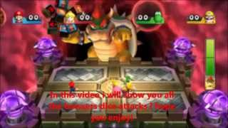 mario party 9 all bowsers dice attacks