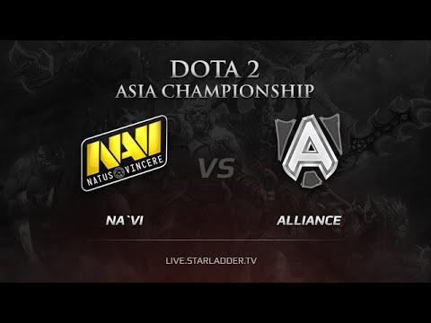 Na`Vi vs The Alliance, DAC 2015 EU Qualifiers, LB Round 3 Game 1