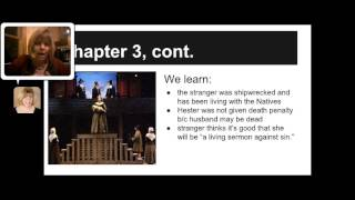 The Scarlet letter Chapters 1-4 Overview