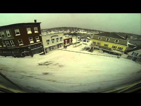 Winter Storm Nemo Timelapse-Boothbay Harbor, Maine