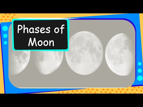 Science - Universe - Phases of Moon - English