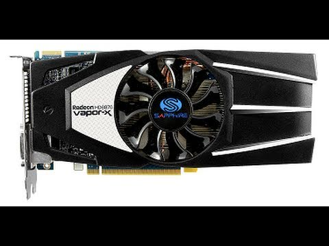 Sapphire AMD Radeon HD6870 1GB Vapor-X Edition Graphics Card Review