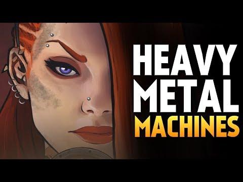 САМЫЙ ЭПИЧНЫЙ СЛИВ В HEAVY METAL MACHINES