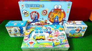 Doraemon Toys Collection, Doraemon Train, Doraemon Track, Doraemon Rotating Toy