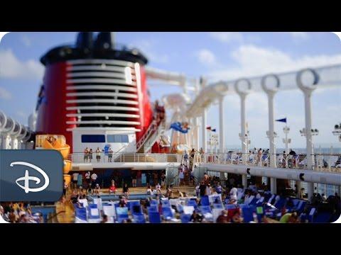 Disney Cruise Line Tilt-Shift Video | 4 Nights on a Disney Cruise