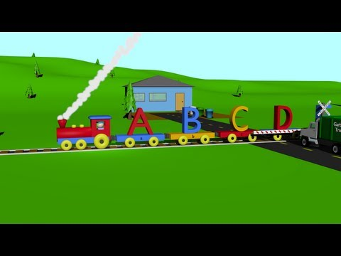 ABC Alphabet Song Train - Learning for Kids