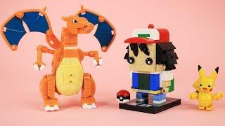 How to Build LEGO Ash Ketchum   Custom Pokémon Trainer Brickheadz