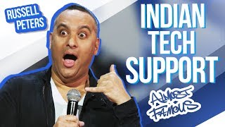 """""""Indian Tech Support""""   Russell Peters - Almost Famous"""