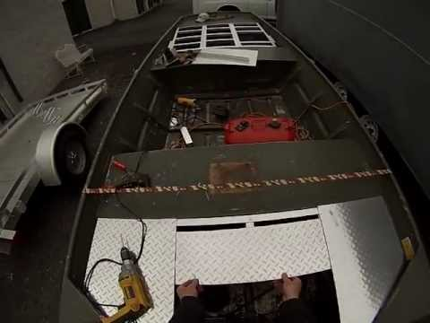 Jon Boat Project- Decking Out My Jon Boat GoPro