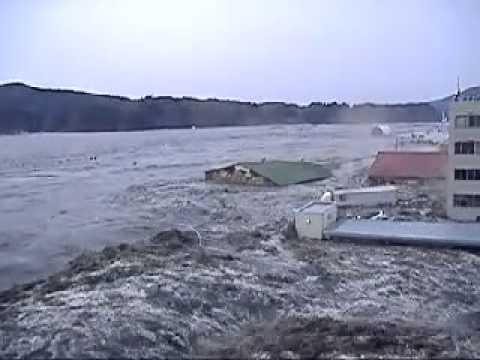 цунами и бешеное нло на 1мин 25сек