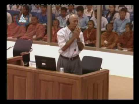 A day at the Khmer Rouge Tribunal (English)