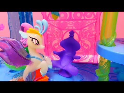 Элис - русалка в подводном дворце. Видео для детей