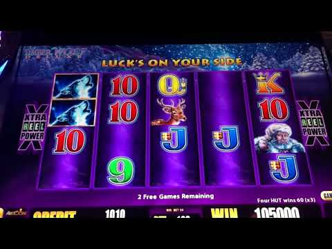 TIMBERWOLF DELUXE JACKPOT HUGE WIN