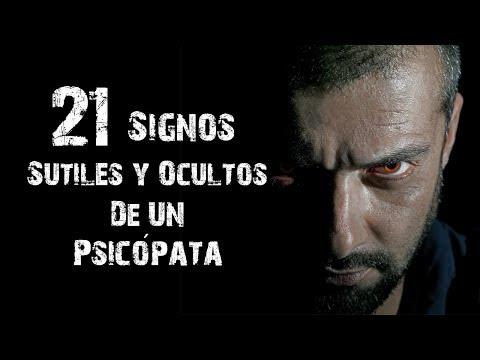 21 Signos Sutiles Para Identificar A Un Psicópata