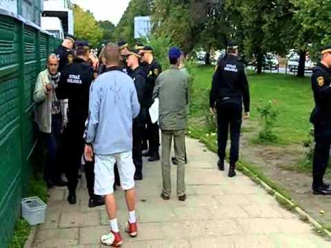 Straż miejska przeganiała nielegalnych handlarzy w Gdańsku