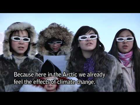 An Earth Hour message from Uummannaq, Greenland