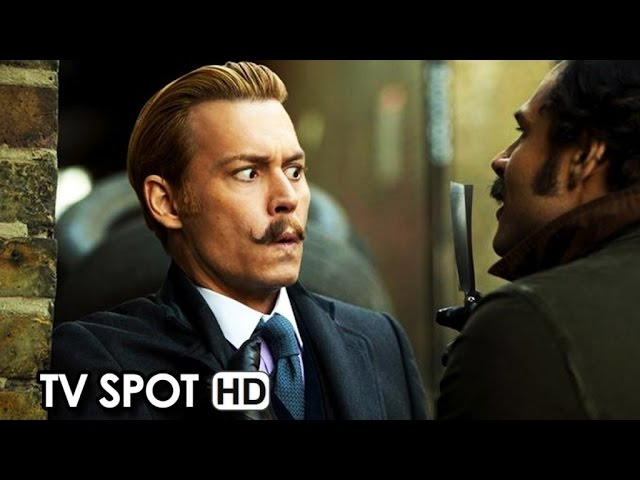 Mortdecai Official TV Spot 'Courageous' (2015) - Johnny Deep HD