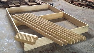 DIY - Modern Wall Storage Cabinets   Woodworking Project   How To Build and Install