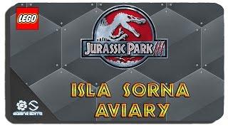 Lego Jurassic World - Isla Sorna Aviary Hub Area All Gold Bricks All Challenges