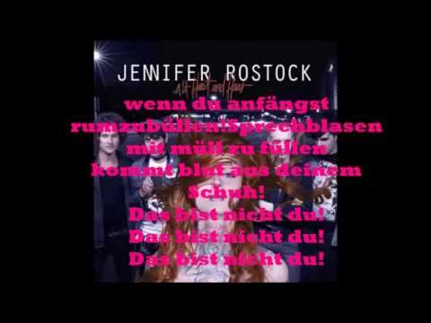 Jennifer Rostock - Lügen Haben Schöne Beine