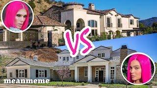 Jeffree Star vs. Kylie Jenner Mansions    Who is fancier?