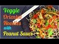 Veggie Oriental Noodles with Peanut Sauce (Healthy…
