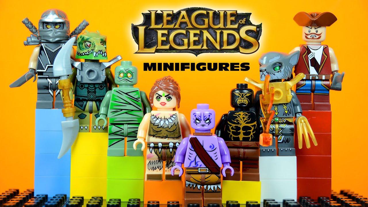Lego League Of Legends Knockoff Minifigures Set 1 Bootleg