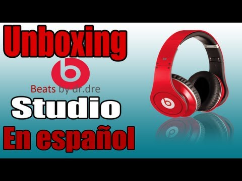 DESEMPAQUETADO (UNBOXING) BEATS BY DRE STUDIO RED EN ESPAOL
