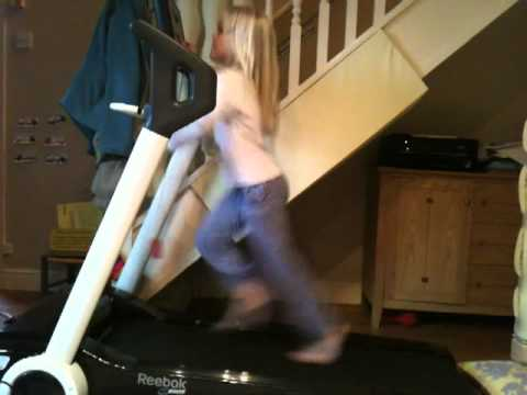 7 Year Old Treadmill Funny video
